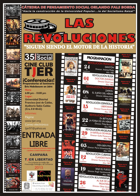 Afiche revoluciones